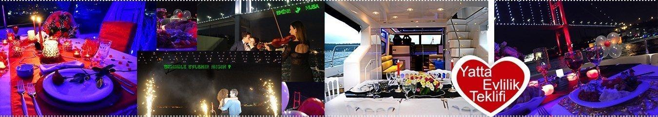 İstanbul Boğazında Teknede Düğün Organizasyonları